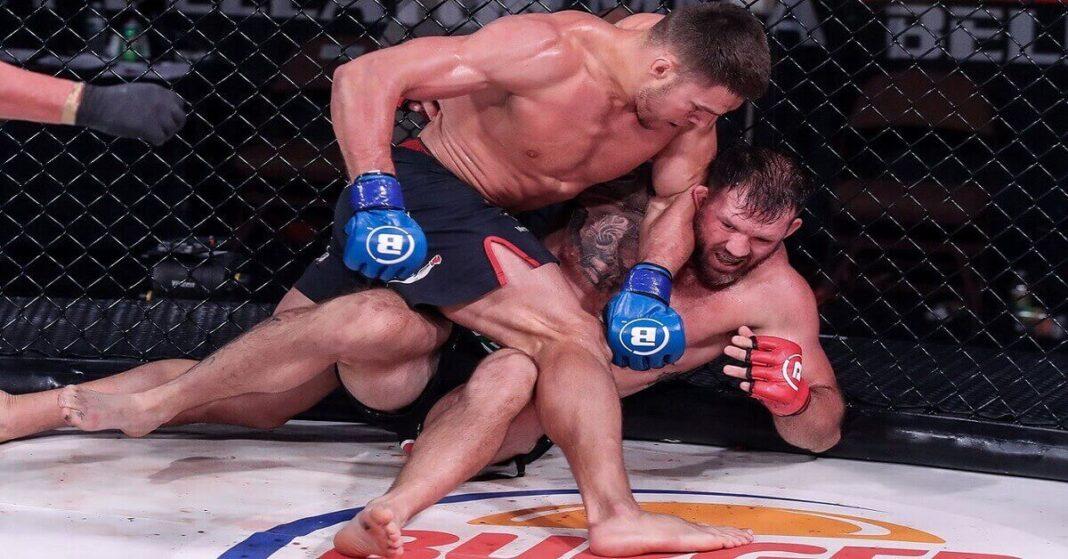 Vadim Nemkov's title-winning TKO of Ryan Bader at Bellator 244