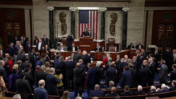 45 Republican Senators vote to dismiss Trump's impeachment trial