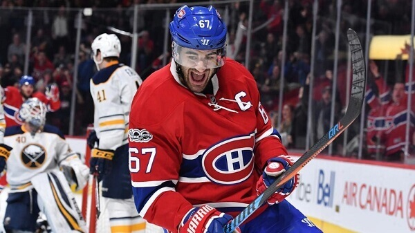 Pacioretty scored a hat-trick