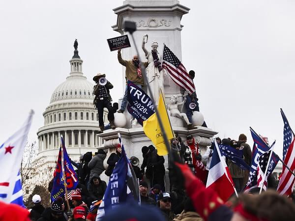 ation Begins To Divide On Capitol Building Carnage