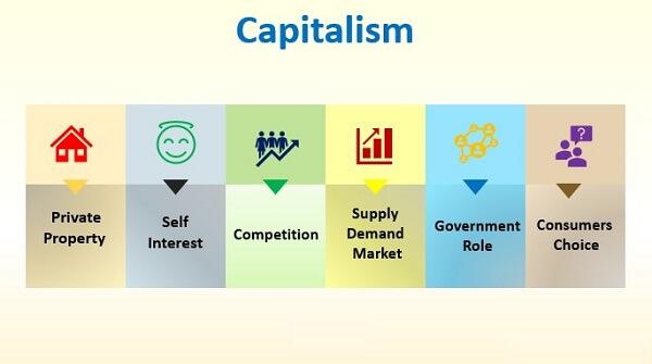 main characteristics of a capitalist economic system