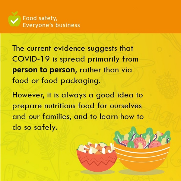 Will microwaving packaged food kill Covid 19