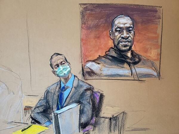 describes an eyewitness as Derek Chauvin trial begins