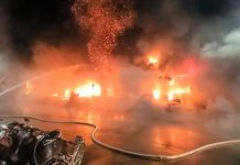 fire incident in Taiwan